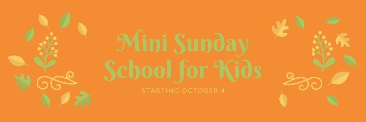 Mini Sunday School