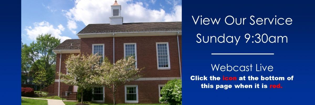 Spring Church Webcast Invitation 2020 2.0