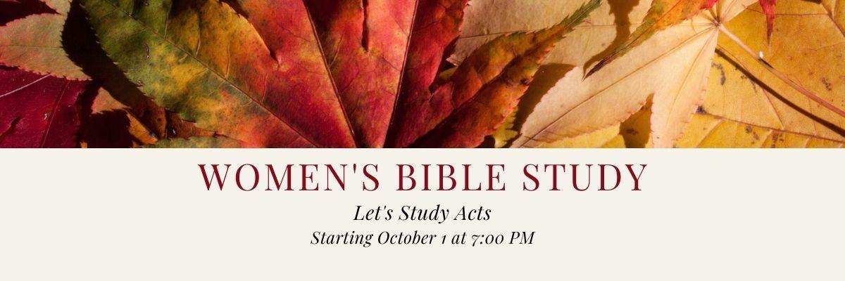 Women's Fall Bible Study (1) Fall 2020
